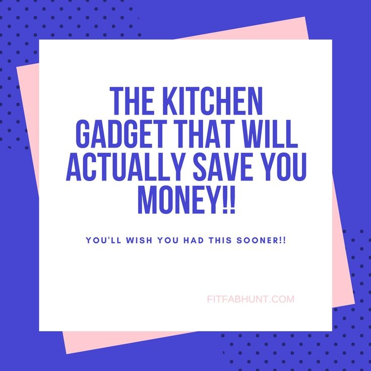 One of the best kitchen gadgets!
