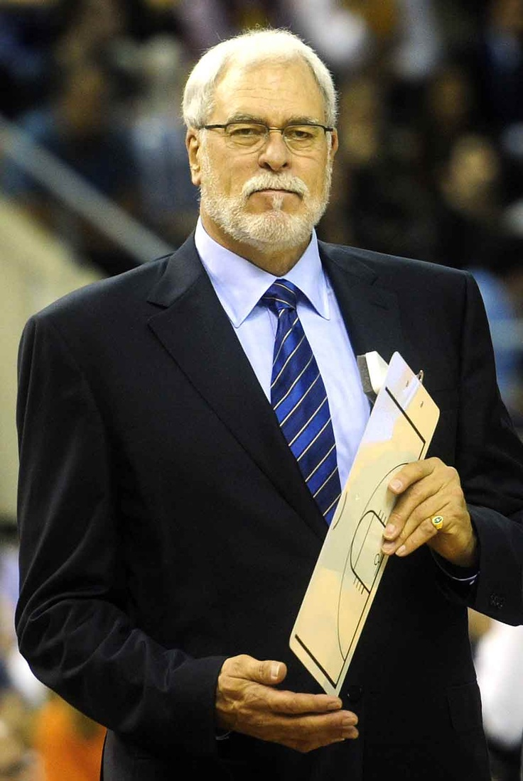 Best Basketball Coach Ever. Phil Jackson. Also best dressed he even makes a suit look good.