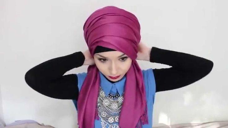 Super simple and quick! Hijab Tutorial l Turban