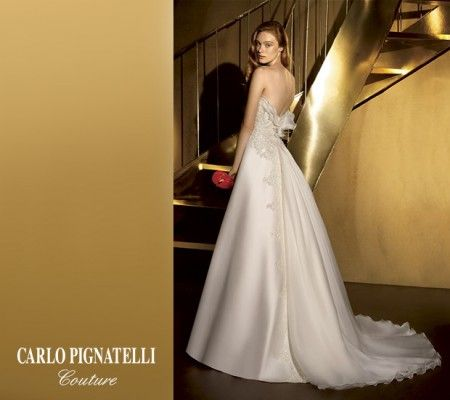 Il 14 dicembre 2013 gli abiti da sposa più glamour sfilano sulla passerella dell'Atelier Pellecchia
