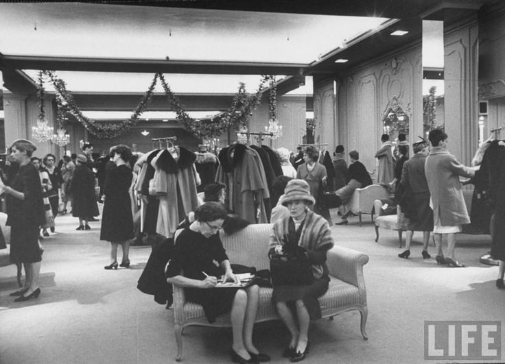 Vintage 1950s Natelsons Department store