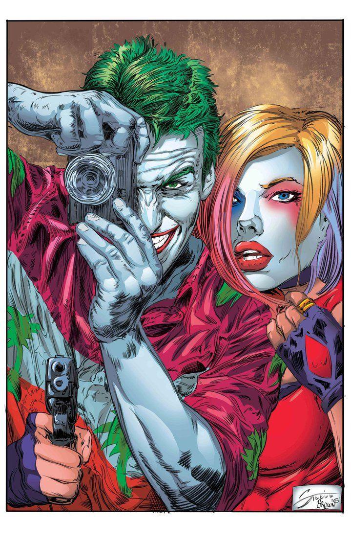Joker-HarleyPsteele-20161229 color by Steele67