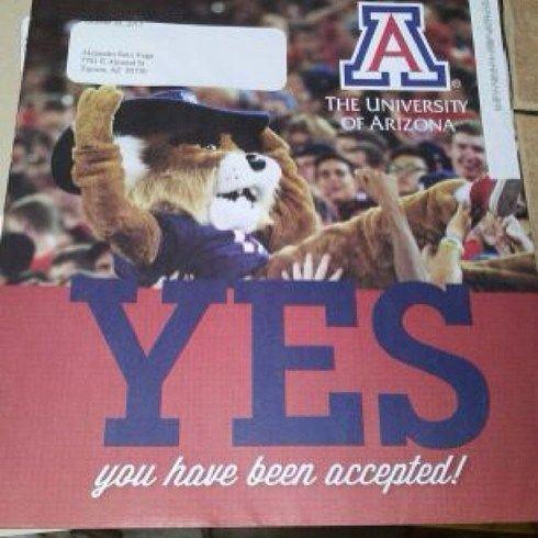 18 best Acceptance letters images on Pinterest Freshman - college acceptance letters