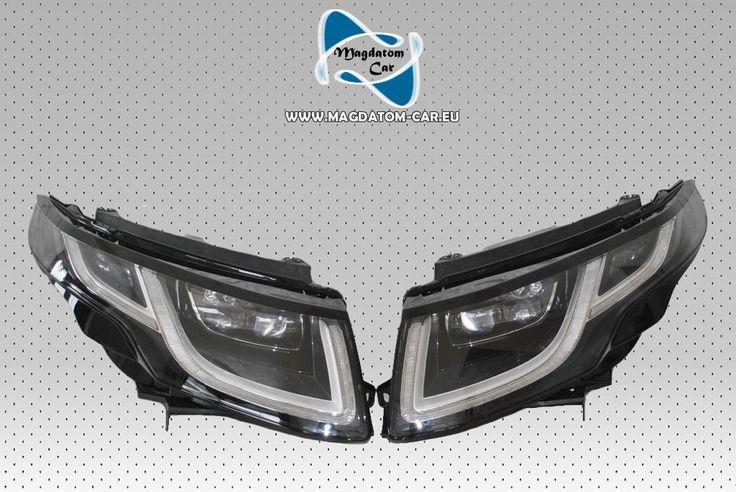 2x Neu Original VOLL LED Scheinwerfer Headlights Rover Evoque 2015-2016
