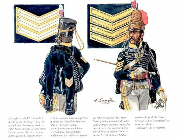 Hussar, King German Legion.  Click on image to ENLARGE.