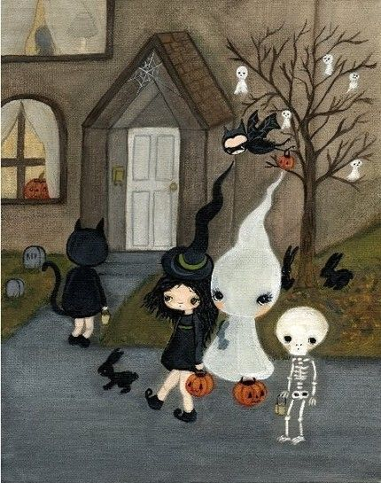a spot of whimsy: all hallows eve.