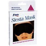Flents Siesta Sleep Mask 1'S by Flents. $2.96. One size fits all. Perfect for travel. Helps you sleep better naturally.. Soft, comfort padded, lightweight. Adjustable-one size fits all. Color of mask may vary from that shown in photo.. INDICATIONS: Flents Siesta Mask Reusable Sleep Eye Mask 1 pc Soft, comfortably padded sleep mask. Adjustable-one size fits all. One size fits all. Perfect for travel.
