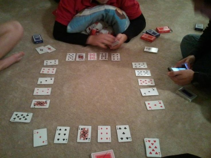 Playing cards is great! Best game ever =  NERTZ!