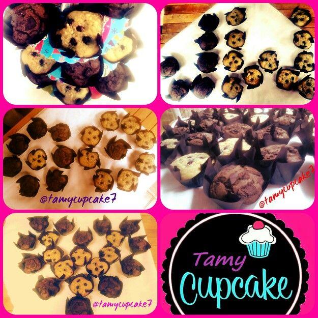 Muffins de @tamycupcake7