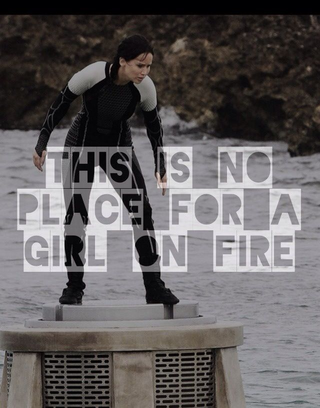 Hunger Games Quote / Catching Fire / Katniss / Cinna
