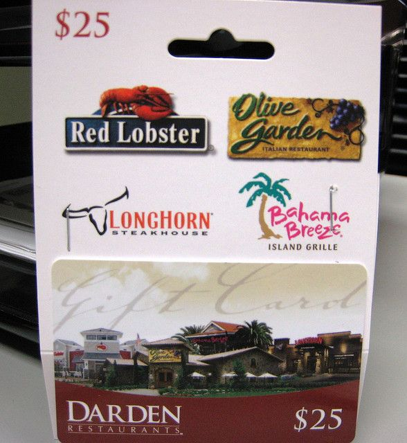 Can You Use Olive Garden Gift Card At Red Lobster | Fasci Garden