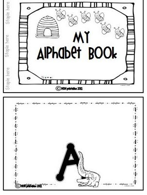 Alphabet bookFree Alphabet, Collage Book, Book Ideas, Freebies Alphabet, Literacy Learners, Abc Book, Alphabet Book Fre, Early Literacy, Alphabet Collage