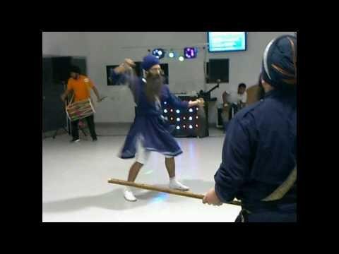 Gatka (Sikh Martial Arts) peformance (Portsmouth University) Part 1/2 - YouTube