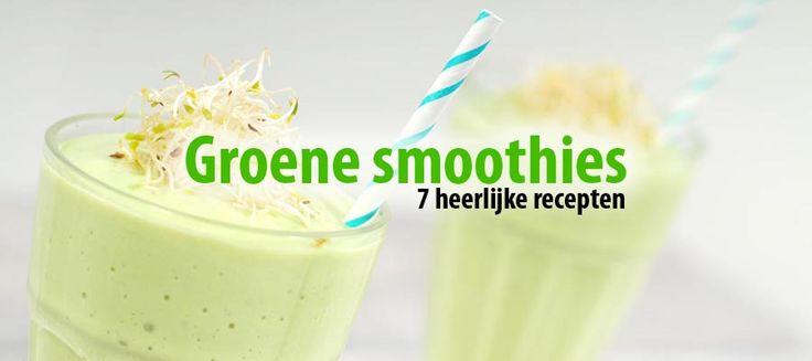 Groene smoothies recepten