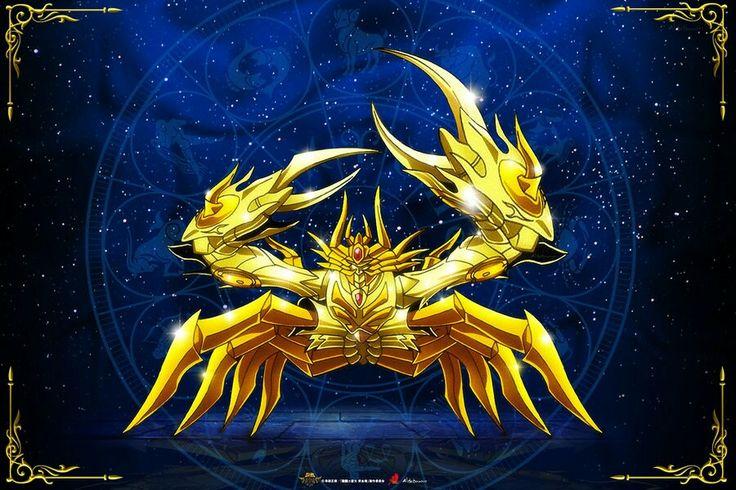 Cáncer Kamui Divina Saint Seiya Soul of Gold