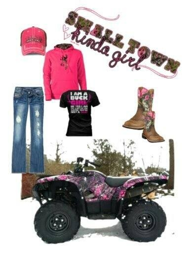 browning sweatshirt, camo atv & boots. I want :)