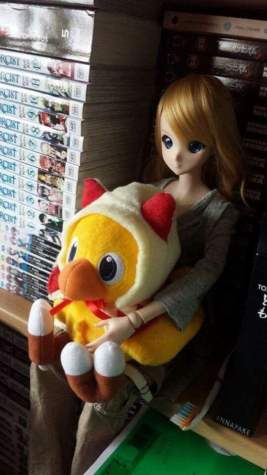 White mage chocobo +Kizuna