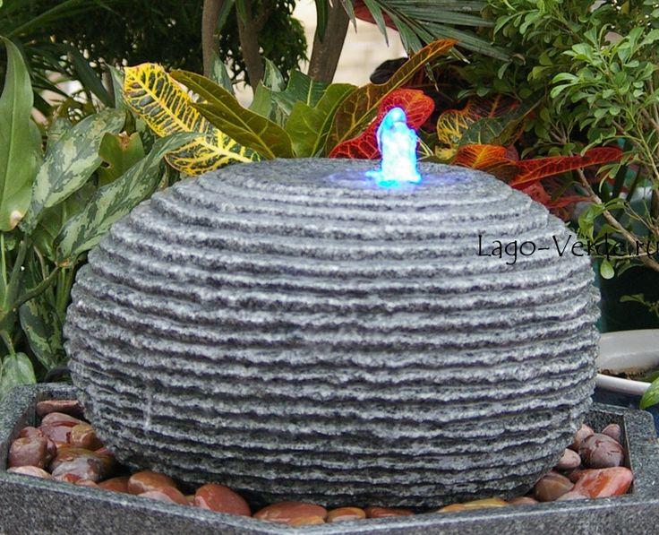 Купить Современный фонтан из гранита для дачи, садовые фонтаны в интернет-магазине Lago Verde