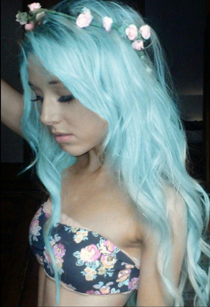 25+ best ideas about Light blue hair dye on Pinterest ...