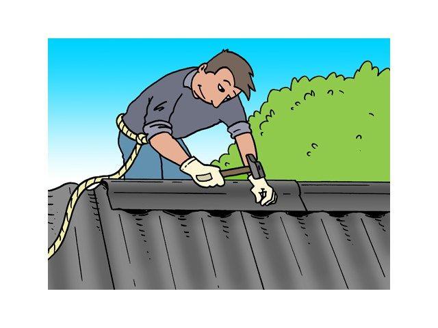 Installer des panneaux ondulés sur une toiture - Abri de jardin - Livios