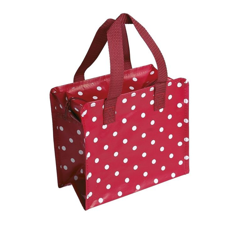 The Handy Little Bag - Choice Of Design ( Red Spotty )