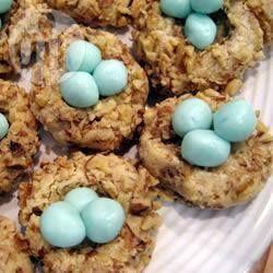 Petits nids de Pâques @ allrecipes.fr