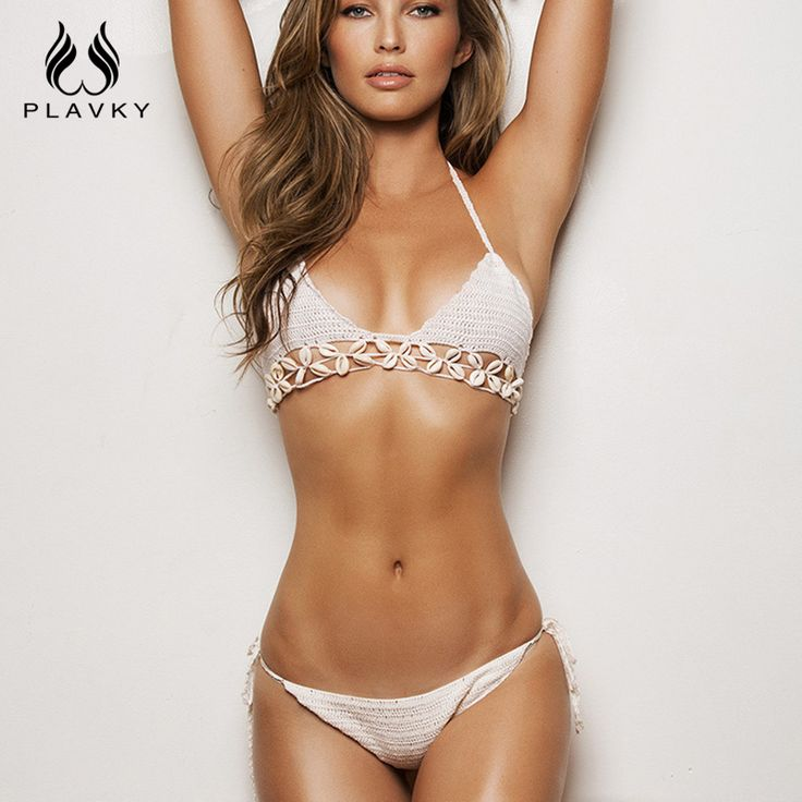 $12.98 (Buy here: https://alitems.com/g/1e8d114494ebda23ff8b16525dc3e8/?i=5&ulp=https%3A%2F%2Fwww.aliexpress.com%2Fitem%2FSexy-Halter-Neck-Knitted-Bikini-With-Shell-Brazilian-Bikini-Micro-Beach-Swimwear-2016-Bathing-Suit-Swimsuit%2F32623108156.html ) Sexy Halter Neck Knitted Bikini With Shell Brazilian Bikini Micro Beach Swimwear 2016 Bathing Suit Swimsuit Women Crochet Bikini for just $12.98
