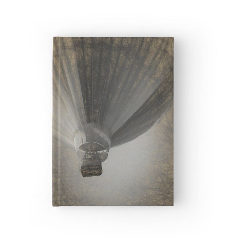Hot Air Balloon Da Vinci style Hardcover Journals by Galerie 503