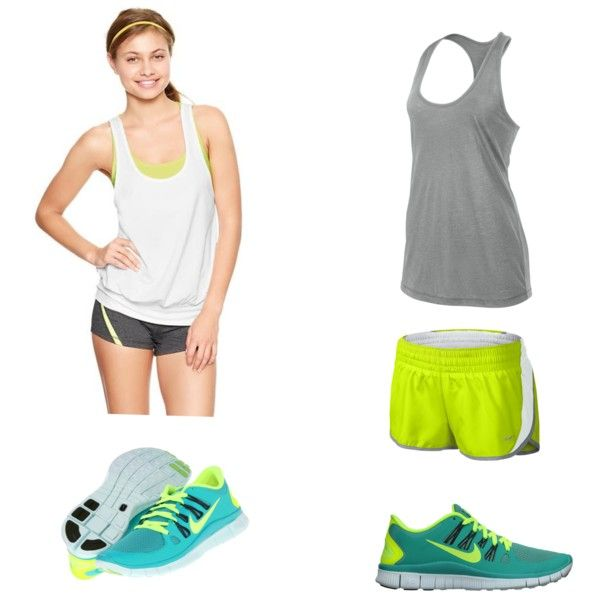 Active wear by acwold, via Polyvore