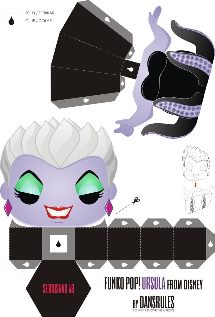 Funko Pop! Ursula Disney by Dansrules by dansrules on deviantART