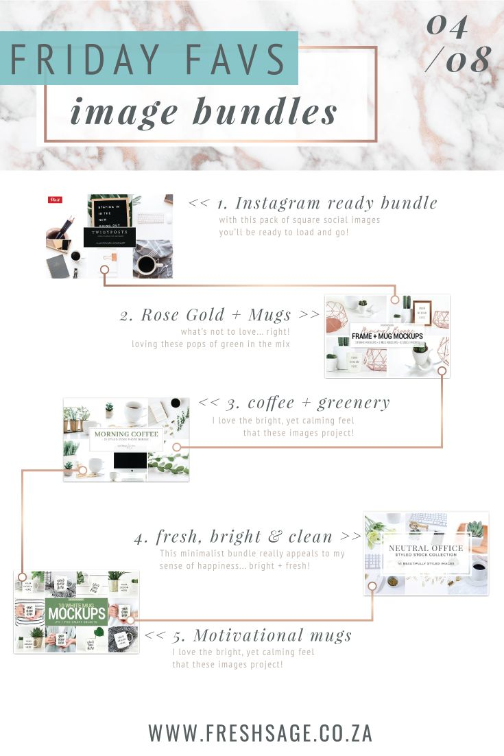 Friday Favs | Image bundles that caught my eye this week! Loving these bundles from @TwigyPosts