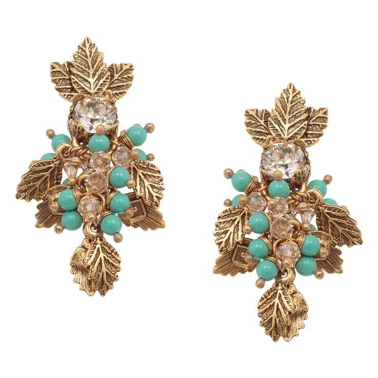 Leaves Earrings by Claudia Arbex