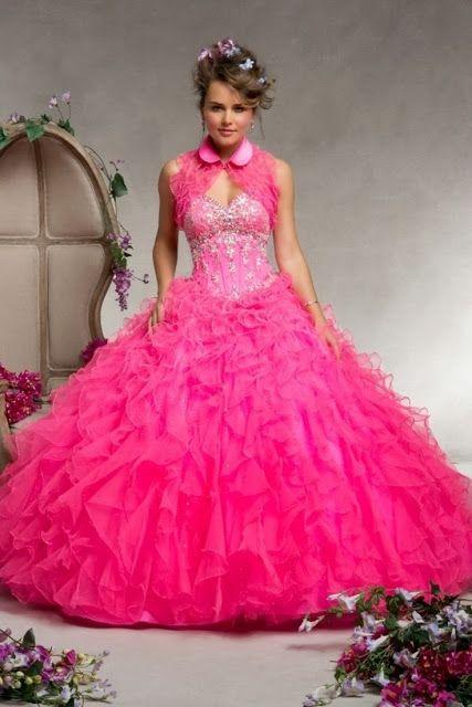 Preciosos vestidos de fiesta de 15 a os de varios colores for Wedding dresses mall of america