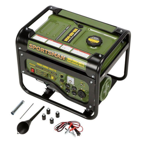Portable Power Generator 4000W Gasoline Powered Outdoor Emergency Energy Source #Sportsman