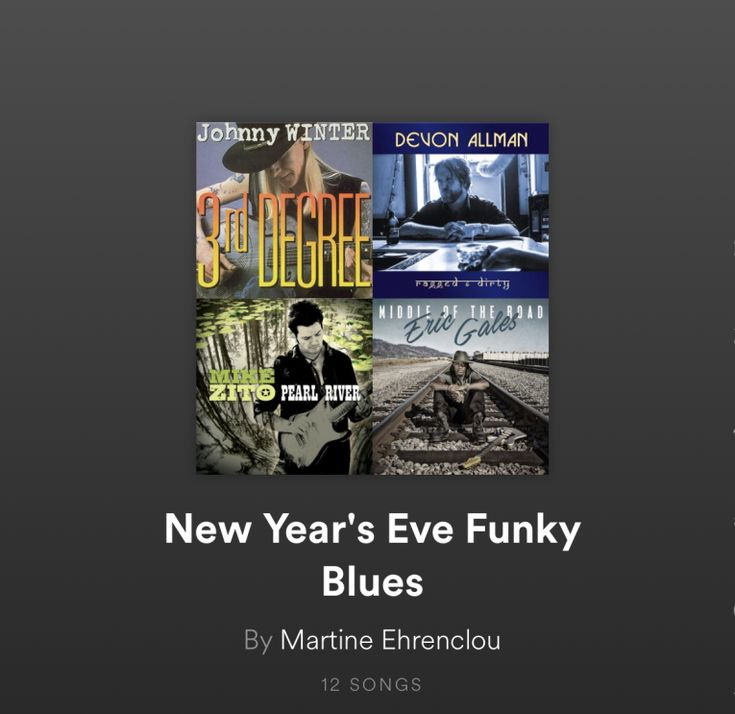 """By Martine Ehrenclou  We all need great blues music to celebrate the new year. I've put together our """"New Year's Eve Funky Blues"""" playlist to usher in 2018. Enjoy some truly great blues music with some groove by outstanding musicians you know and love.  Our playlist includes songs by"""