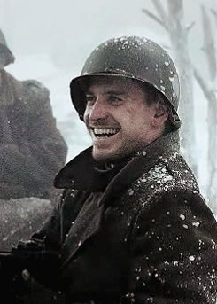 I think it's from Band of Brothers (2001), gif