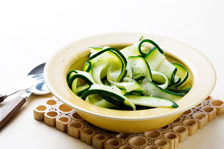 Zucchini Fettuccine - A Low-Carb Pasta Alternative