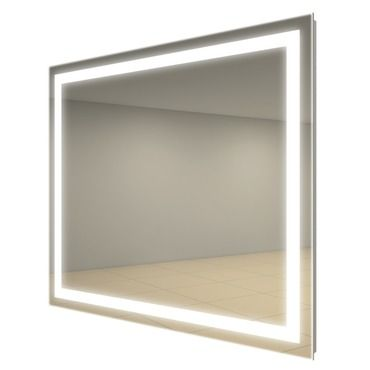 Integrity Lighted Mirror | Electric Mirror at Lightology. love this!