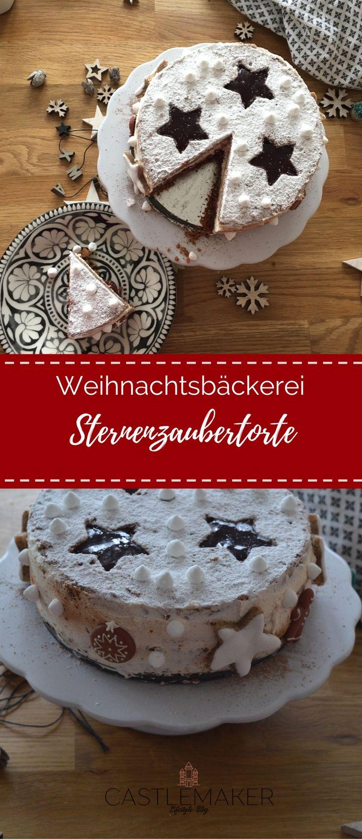 Diese schöne Torte schmeckt nicht nur zu Weihnachten, aber ist gerade dann etwas ganz Besonderes. Ein Spekulatiusboden, sowie Wiener Boden mit Lebkuchengeschmack, gefüllt mit Kirschpudding sowie einer köstlichen Mascarponecreme ist sie einfach nur lecker. Wie ich sie genau gemacht habe, erzähle ich auf dem Blog: #weihnachtstorte #rezept #weihnachten #torte