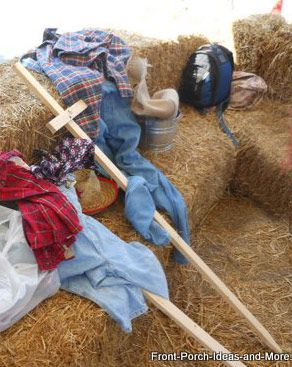 DIY: HOW TO MAKE A SCARECROW (BLOG LINKS IDEAS AND FULL STEP BY STEP TUTORIAL WITH PHOTOS)