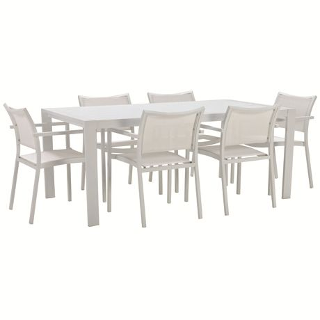 Torquay 7 Piece Dining Package | Freedom Furniture and Homewares $999 #freedomaustralia