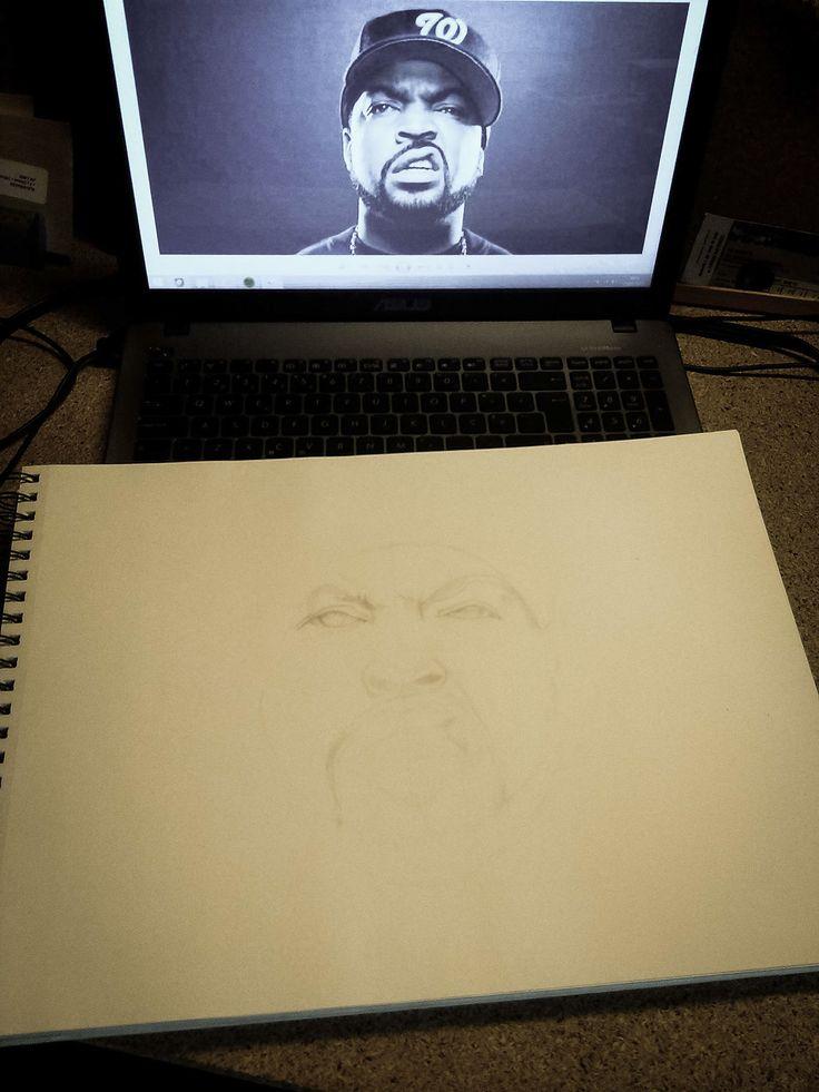 """Ice Cube """"gangsta rap made me do it"""" by Rui Filipe"""