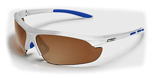 2017 Maxx Sunglasses TR90 Maxx Raven 20 HD White w Blue Amber Lens Polarized *** Learn more by visiting the image link.