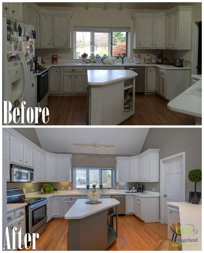 Kitchen Staging Before And After