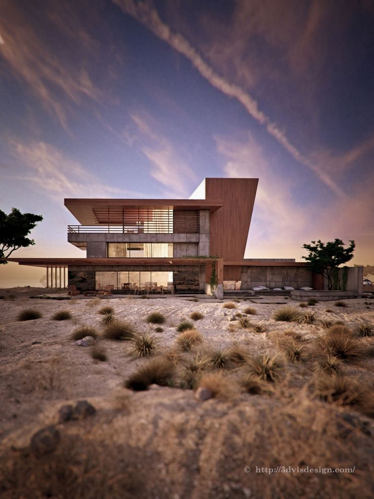 3D Design Architectural Visualization & Rendering | Architectural rendering exterior / Desert Rose (Competition project)
