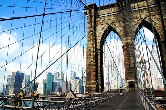 Бруклинский мост brooklyn bridge