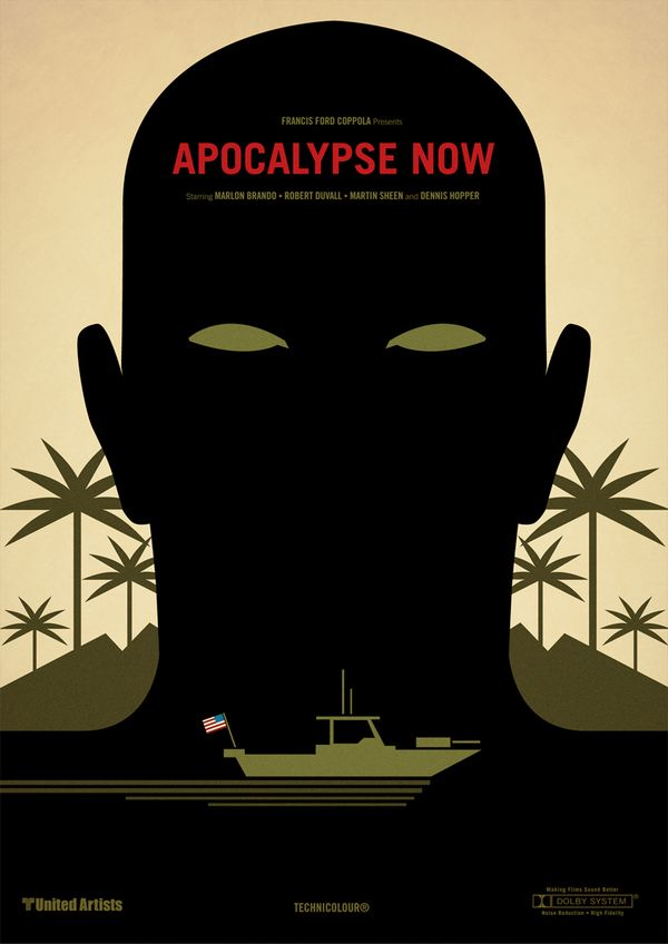 Apocalypse Now. Classic Film Posters by Marcus Reed.