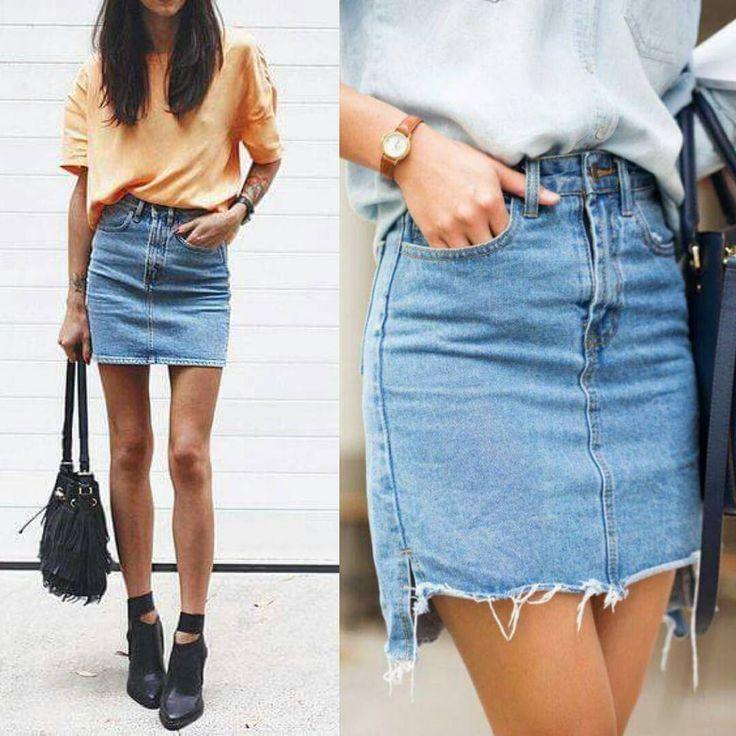 Os anos 90 estão super presentes nesta primavera-verão! A saia jeans de cintura alta já está disponível em muitas redes de fast fashion, e é uma peça que vale a pena investir porque jeans é puro estilo! E aí, qual a sua tendência dos anos 90 preferida? ° °  #estilounico #estiloproprio #dicadodia #ninacostaloja #streetstyle #minimalstyle #styleoftheday #ootd #lookdodia #fashionblog #modafeminina #fashion  #inspiracaododia #birigui #aracatuba #embreve #lojadeacessorios #acessóriosfemininos…
