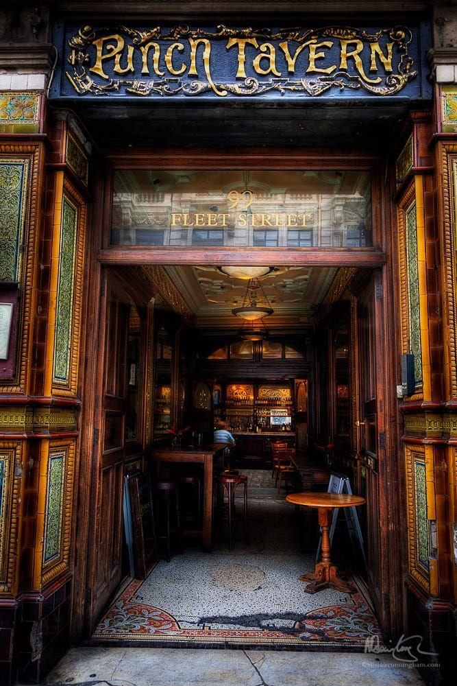 The Punch Tavern, Fleet Street, London by Alistair Cunningham on 500px