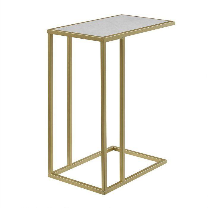 Jorgensen Asymmetrical Modern End Table Modern End Tables End Tables C Table